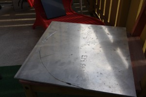 400x400x6 mm´s aluminium